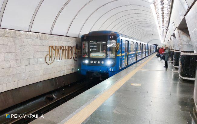 У Києві змінили графік руху поїздів у метро на час локдауну