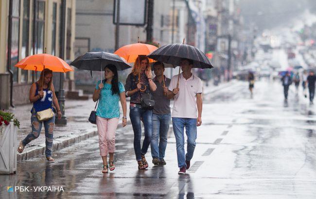 Ливни и резкое похолодание: прогноз погоды в Украине на сегодня