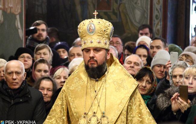 Второе Крещение: Епифаний поблагодарил президента Украины за помощь