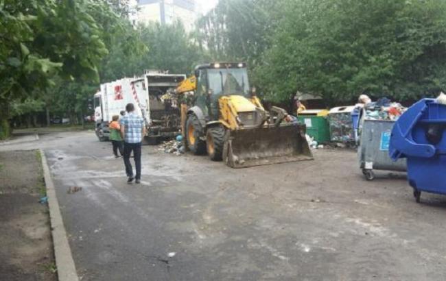 УЛьвові завершили прибирання всіх переповнених сміттєвих майданчиків