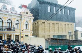 Закінчилася перша черга реконструкції Театру на Подолі