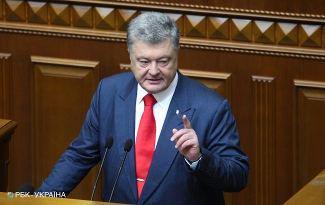 Порошенко схвалив закон про кримінальну відповідальність за незаконний в'їзд в Україну