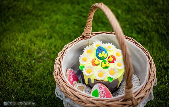 Великденій кошик (фото: РБК-Україна)