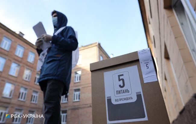 У Черкасах опитування Зеленського проводили члени виборчкому прямо на ділянці, - КВУ