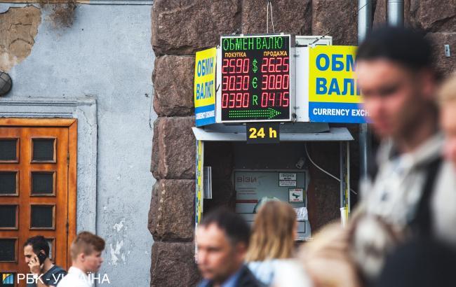 НБУ понизил справочный курс доллара до 28,08 грн/доллар