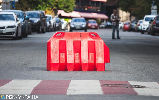 Завтра будет ограничено движение транспорта на пересечении Курбаса, Юры и Покатила