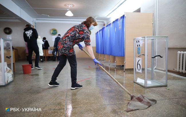 У Харківській області на деяких дільницях відсутні пандуси