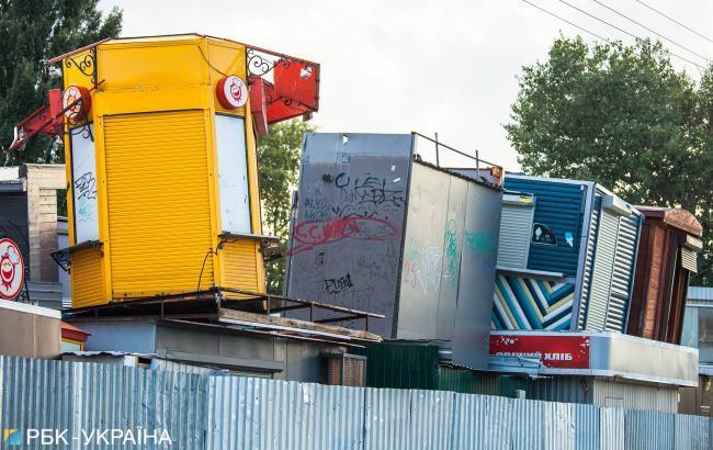 В киевском метро демонтировали 172 МАФа