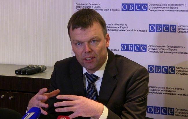 ОБСЕ не может подтвердить заявление боевиков об отводе техники