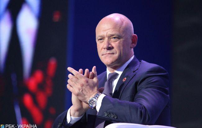 Труханов переобраний мером Одеси