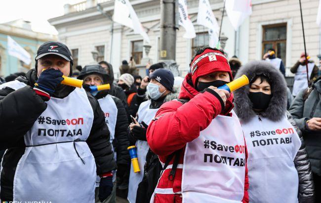 У Києві протестують під Радою, поліція перейшла на посилений режим