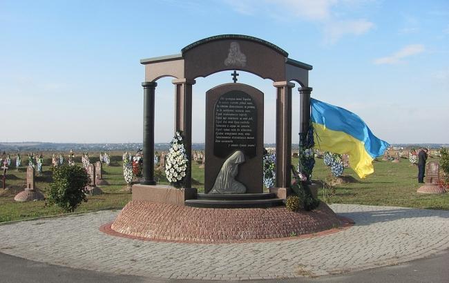 В Черкасской области похоронили спасателя, который стал жертвой оккупантов в 2014 году