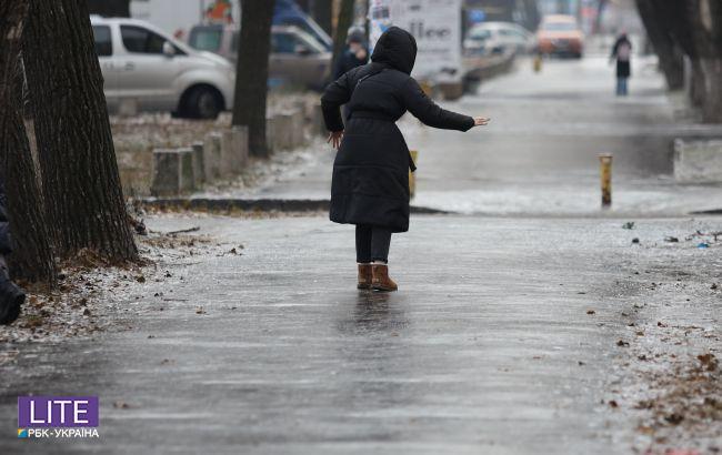 Відлига, дощі та ожеледиця: яким областям України не пощастить