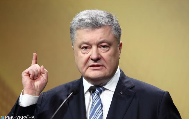 Порошенко раскритиковал заявления РФ о подкупе Варфоломея для получения томоса