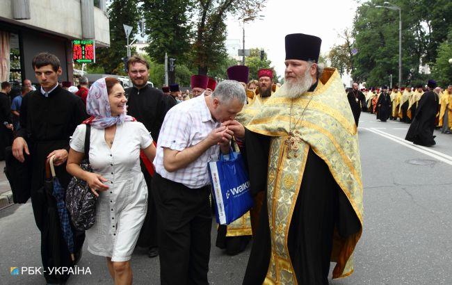 Центр Києва перекриють через хресний хід на честь річниці хрещення України-Русі
