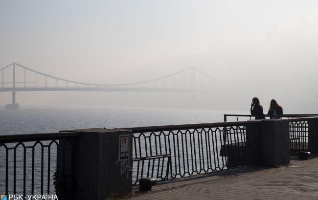 Рівень забруднення повітря в Києві зростає через спеку