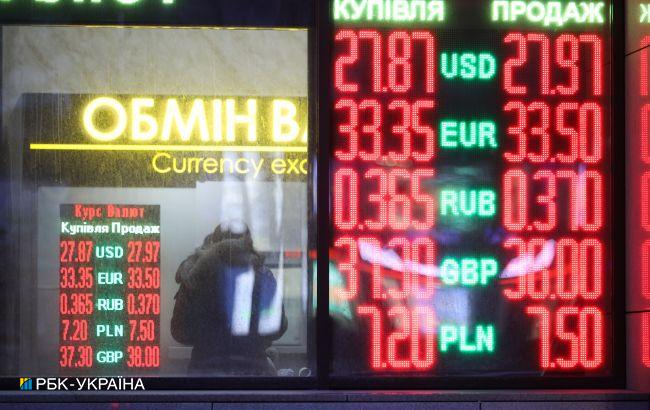 Ситуация на валютном рынке: гривна укрепляется после военной деэскалации