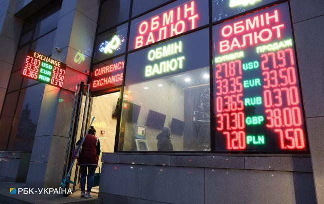 Бизнес прогнозирует курс выше 29 гривен за доллар в течение года