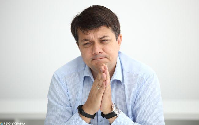 Разумков поклав на Клімкіна провину за зрив звільнення моряків