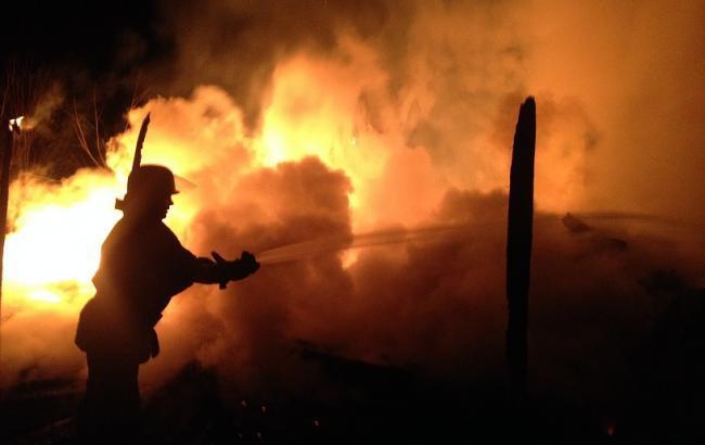 Фото: в Донецкой области произошел пожар