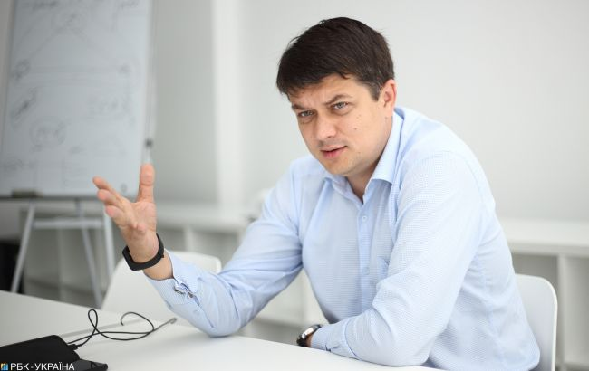 Дмитрий Разумков: Хотелось бы, чтобы наших депутатов было больше
