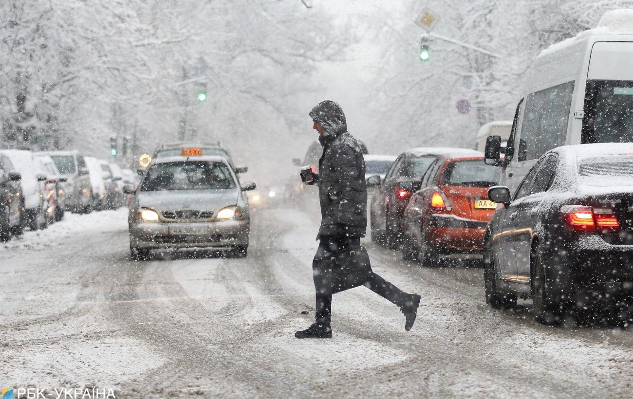 В Украине разворачивают сеть пунктов обогрева из-за резкого похолодания