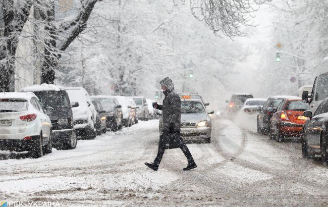 Снігопад, дощ та мороз до -14: прогноз погоди на сьогодні