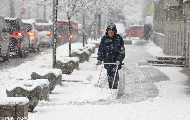 В Київській області випаде до 5 см снігу