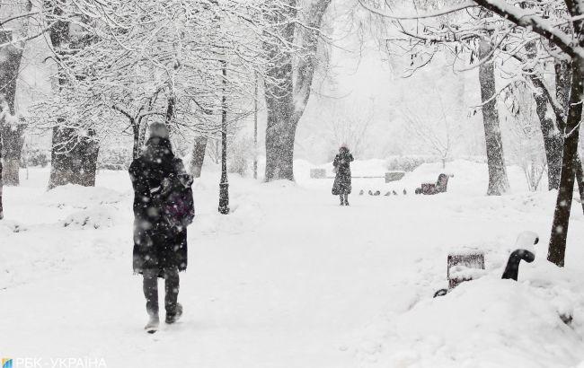 В Україну несуться снігові зливи: синоптики назвали дату
