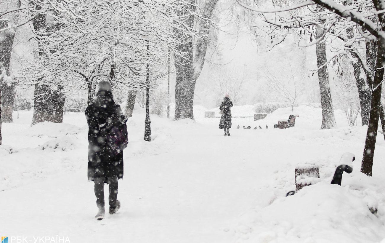 В Украину несется снежный шторм: какие области под ударом