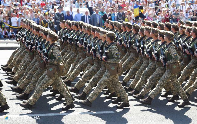 В Киеве на День Независимости состоится военный парад
