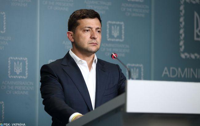 Зеленський про розведення сил на Донбасі: ми будемо чекати 7 днів тиші