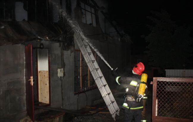 Фото: ліквідація пожежі в Кропивницькому