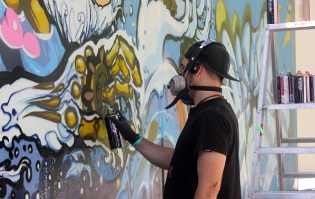 Стены киевских многоэтажек преобразят иностранные художники