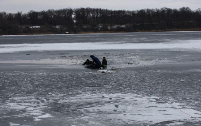 ВЗапорожье ребенок задохнулся под льдом