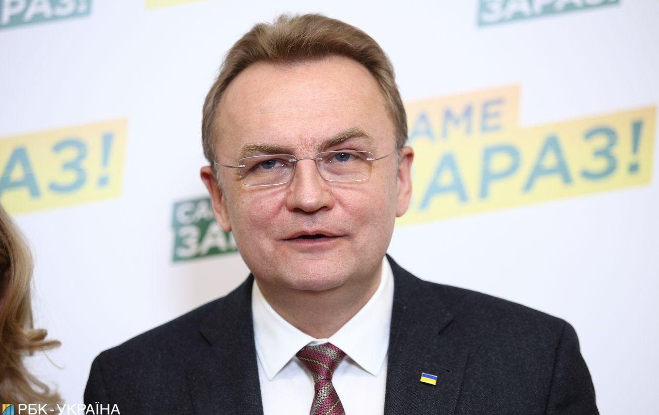 На выборах мэра Львова одержал победу Садовой