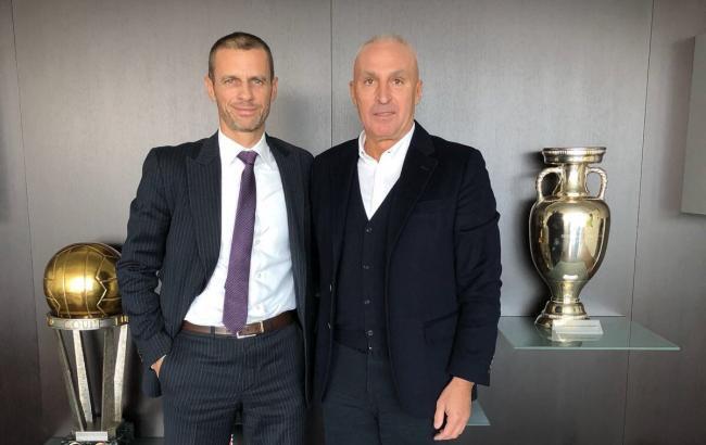 Ярославский обсудил с руководством УЕФА перспективы сотрудничества по проектам в Харькове