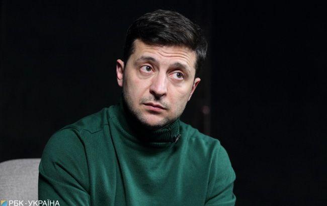 Зеленський прибув на дебати з Порошенком