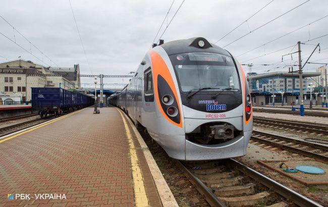 """УЗ спростувала чутки про скасування одного з потягів """"Інтерсіті"""""""