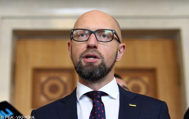 Яценюк посоветовал Шмыгалю удешевить кредиты и остановить импорт российского тока