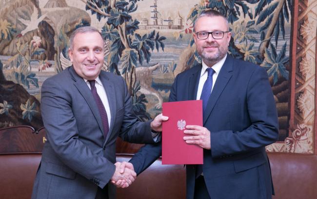 Новим послом Польщі в Україні став Марцін Войцеховський