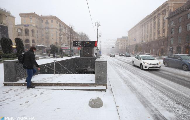 Украинцам обещают потепление и мокрый снег на выходных