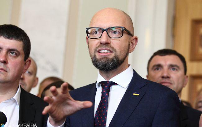 """Викреслені зі списку: як """"Народний фронт"""" Арсенія Яценюка піде на дострокові вибори у Раду"""
