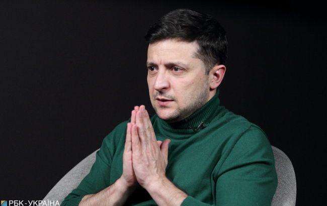Зеленский допускает роспуск Рады в случае победы на выборах