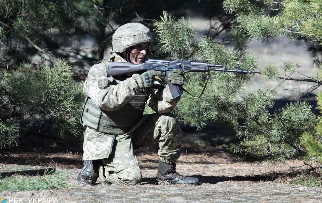 Бойовики обстрілювали позиції ООС на Донбасі з гранатомета