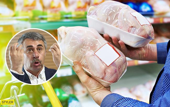 Домашня або магазинна: доктор Комаровський розповів, яка курятина безпечніша