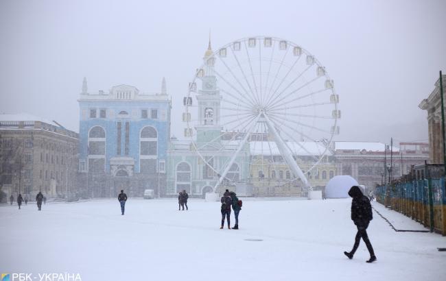 Невеликий мороз: синоптики розповіли, де чекати сніг 20 листопада