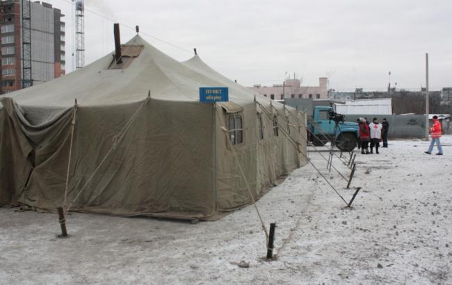 В Киеве развернут около 30 пунктов обогрева