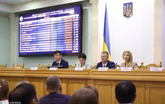 ЦВК розпустила комісію на 210 окрузі