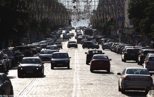 В Киеве могут запретить передвижение на своих автомобилях